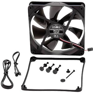 Noiseblocker BlackSilent Pro Fan PK3, 140 mm NOISEBLOCKER PK-3