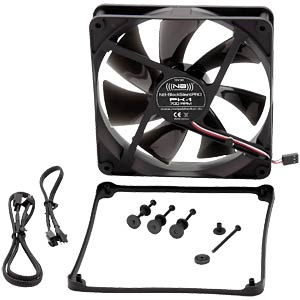 Noiseblocker BlackSilent Pro Fan PK1, 140 mm NOISEBLOCKER PK 1