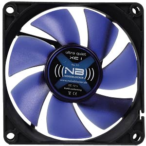 Noiseblocker BlackSilent fan XC1 - 80 mm NOISEBLOCKER ITS-XC-1