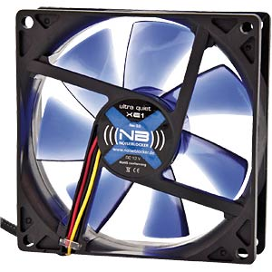 Noiseblocker BlackSilent Fan XE1 - 92mm NOISEBLOCKER XE-1