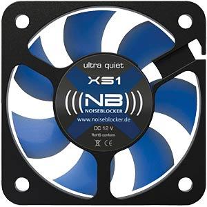 Noiseblocker BlackSilent Fan XS1, 50 mm NOISEBLOCKER XS-1