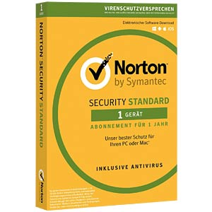 Software, Security Standard, 1 Anwender, 1 Gerät NORTON 21355419
