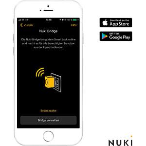 Smart Lock door unit, Bluetooth, Bridge NUKI NUKI 020