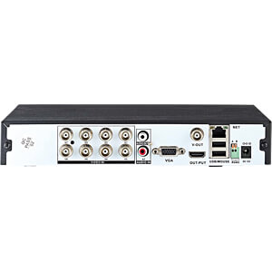 Netzwerk-Videorekorder, 8-Kanal NEDIS AHDR208CBK