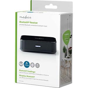 Wireless Audio Receiver, Bluetooth®, Black NEDIS BTRC100BK