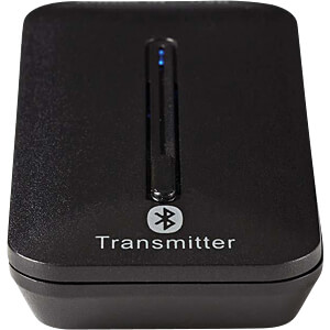 Audiosender, Bluetooth®, bis zu 2 Kopfhörer, Schwarz NEDIS BTTR200BK