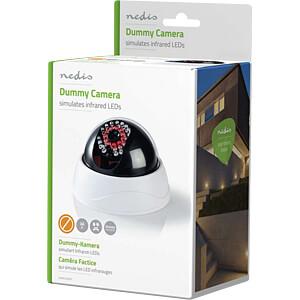 Dummy-Überwachungskamera, Dome, IP44, weiß NEDIS DUMCD20WT