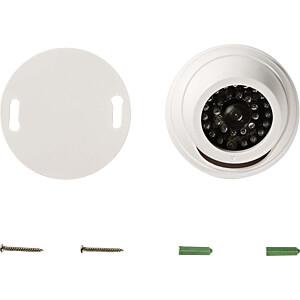 Dummy-Überwachungskamera, Dome, weiß NEDIS DUMCD30WT