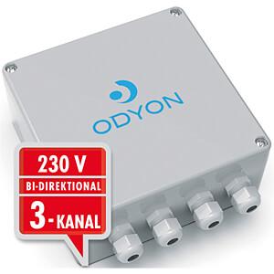 Wandontvanger, 230 V, 3 kanalen, bidirectioneel ODYON RW24030-433-R-230