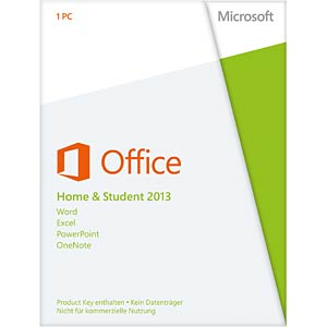 Software, Office 2013 Home & Student (PKC) MICROSOFT 79G-03604