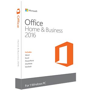 Software, Office 2016 Home & Business (PKC) MICROSOFT T5D-02808