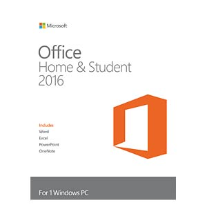 Software, Office 2016 Home & Student (PKC) MICROSOFT 79G-04659