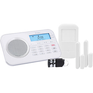 Alarmanlage Protect, Funk 868 MHz, mit GSM Modul OLYMPIA 6002