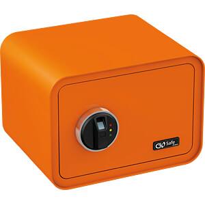 Tresor mit Fingerprint, orange OLYMPIA 7013