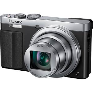 Digitalkamera, 12,1 MP, 30x Zoom, silber PANASONIC DMC-TZ71EG-S