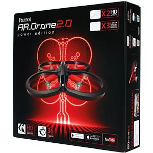 Quadrocopter Power Edition [red] PARROT PF721005BG