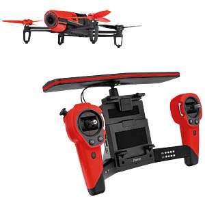 Quadrocopter Parrot Bebop drone + Skycontroller PARROT PF725100