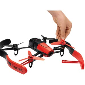 Quadrocopter Parrot Bebop Drone [rot] PARROT PF722000