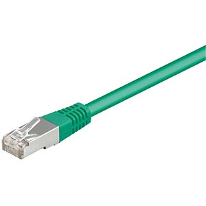 1.5m Cat.5e cable, green, network cable RJ45 FREI