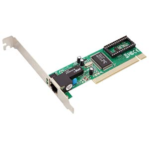 Fast Ethernet PCI network interface card LOGILINK PC0039