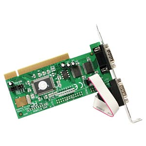 2 Port RS232, seriell, PCI Karte, auch Low Profile STARTECH.COM PCI2S550