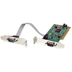 2 Port RS232, seriell, PCI Karte, Low Profile STARTECH.COM PCI2S550_LP