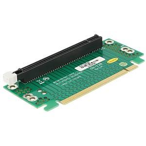 PCIE-Riser-Karte 90° gewinkelt rechts DELOCK 41914