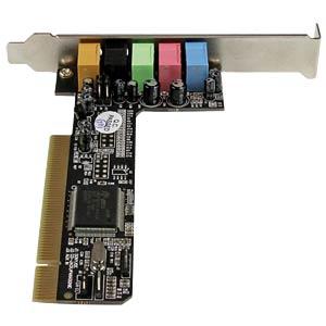 Soundkarte, intern, Surround-Sound, 5.1, PCI STARTECH.COM PCISOUND5CH2