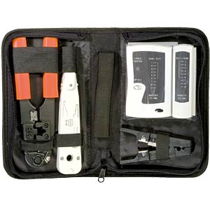 Network tool case for installation/testing FREI