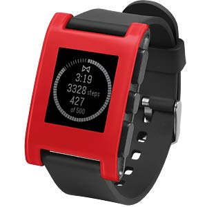 Pebble Smartwatch, red PEBBLE 301RD