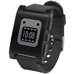 Pebble Smartwatch, schwarz PEBBLE 301BL