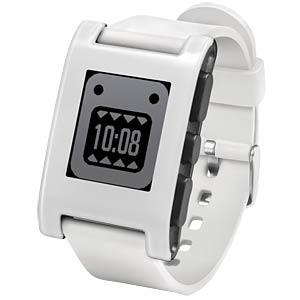 Pebble Smartwatch, weiß PEBBLE 301WH