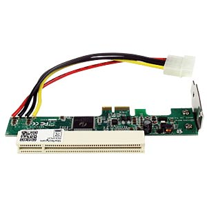PCIe Karte auf PCI Adapter, Low Profile STARTECH.COM PEX1PCI1