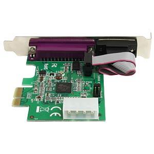2 Port RS232, parallel, seriell, PCI Karte STARTECH.COM PEX1S1P952