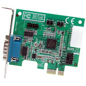 2 Port RS232, seriell, PCIe Karte, Low Profile STARTECH.COM PEX2S952LP