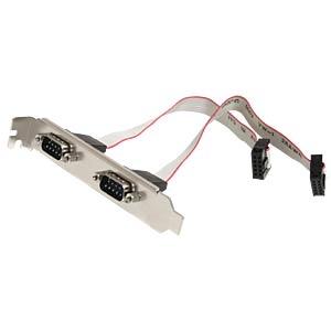 4 Port RS232, seriell, PCIe Karte, Low Profile STARTECH.COM PEX4S553