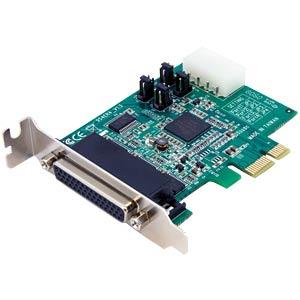 4 Port RS232, seriell, PCIe Karte, Low Profile STARTECH.COM PEX4S952LP