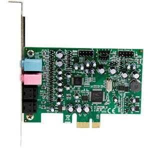 Soundkarte, intern, Surround-Sound, 7.1, PCIe STARTECH.COM PEXSOUND7CH