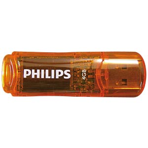 USB 2.0 stick, 4 GB, Philips Urban PHILIPS FM04FD35B/00