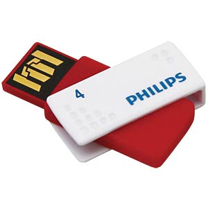 USB2.0-Stick 4GB Philips Sato PHILIPS FM04FD45B/10