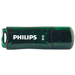 USB 2.0 stick, 8 GB, Philips Urban PHILIPS FM08FD35B/00