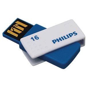 USB 2.0 stick, 16 GB, Philips Sato PHILIPS FM16FD45B/10