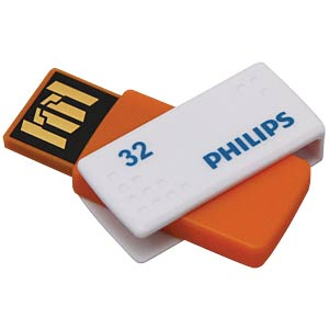 USB2.0-Stick 32GB Philips Sato PHILIPS FM32FD45B/10