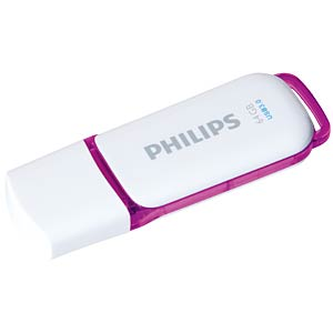 USB 3.0 stick, 64 GB, Philips Snow PHILIPS FM64FD75B/10