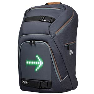 Backpack für Notebooks with LED panel PORT 202330