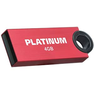USB2.0-Stick 4GB Platinum SLENDER PLATINUM 177544