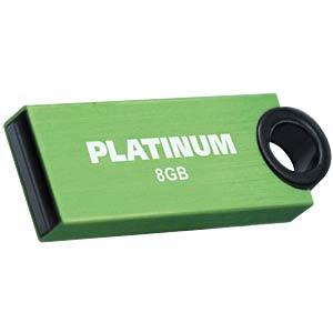 USB2.0-Stick 8GB Platinum SLENDER PLATINUM 177545