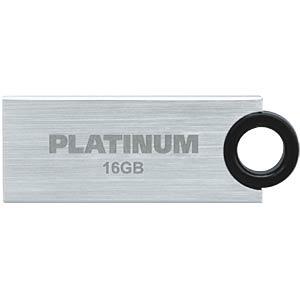 USB2.0-Stick 16GB Platinum SLENDER PLATINUM 177546