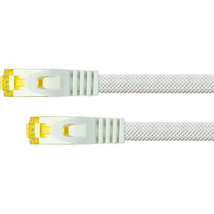 Patchkabel - Rohkabel Cat.7 weiß 15m PYTHON 8070PY-150W