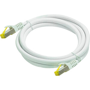 Patchkabel - Rohkabel Cat.7 weiß 5m PYTHON 8070PY-050W